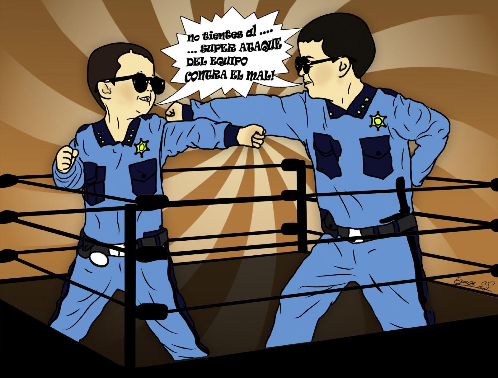 Cómic policia niños