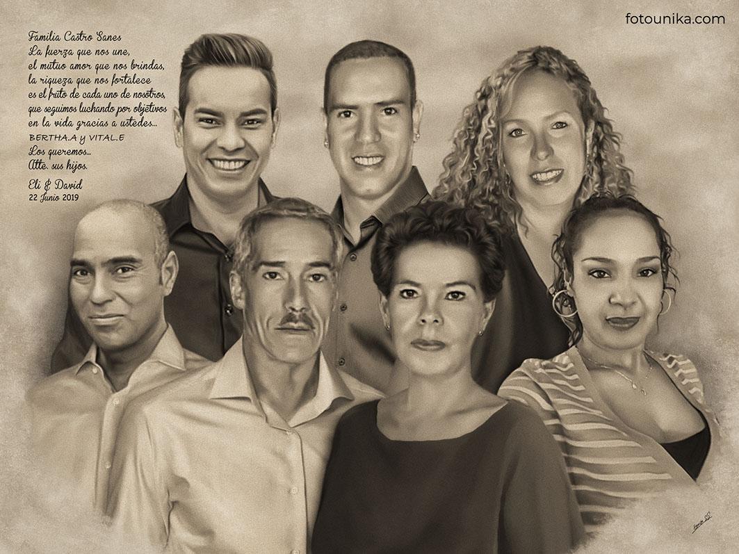 DETALLE BODAS PADRES CARBONCILLO FAMILIA NOVIO G