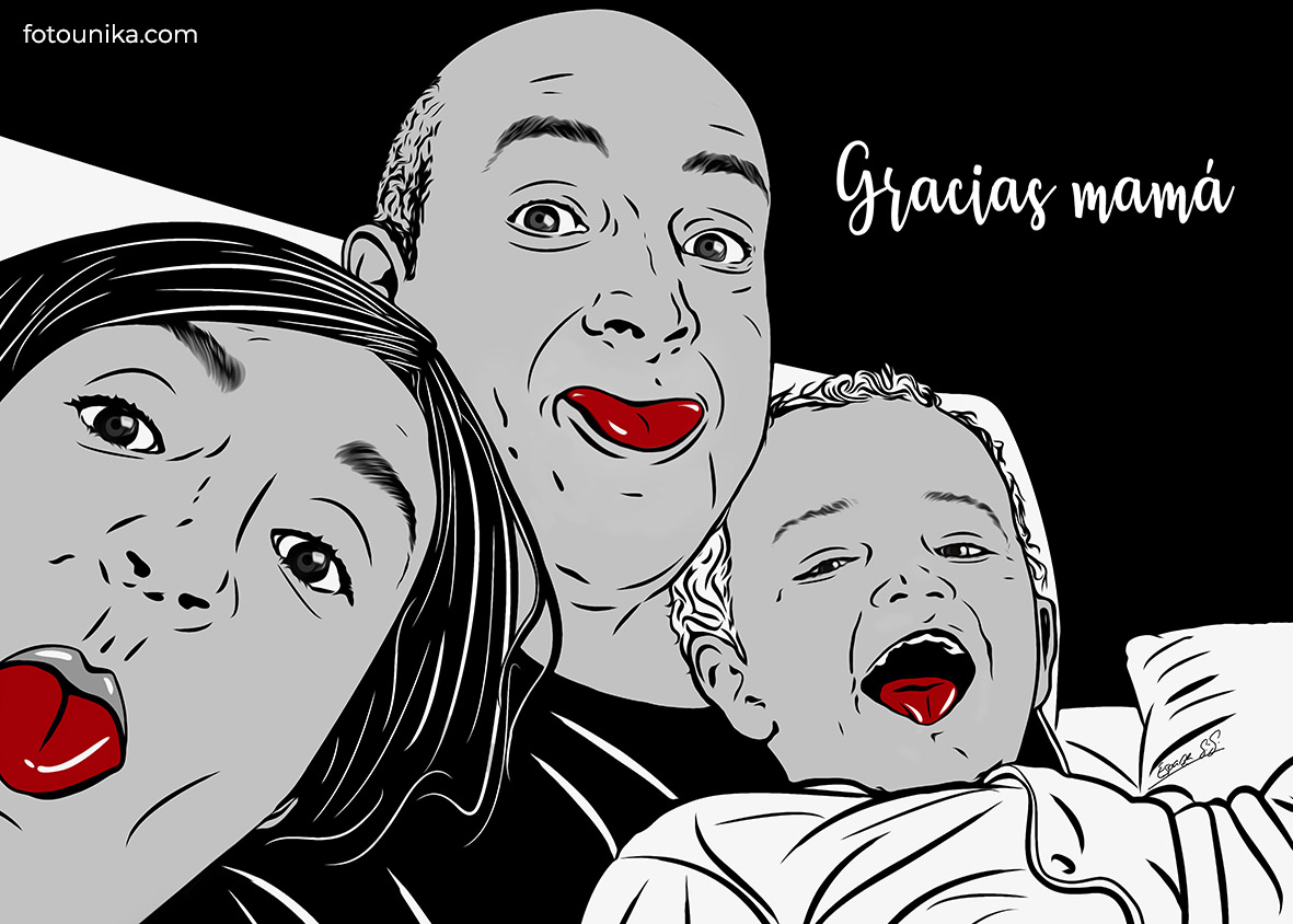 POP ART DIA DE LA MADRE