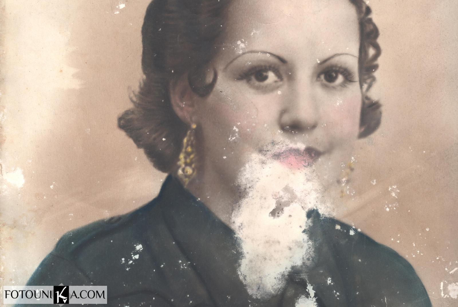 Retoque, restauración y coloreado de fotos antiguas