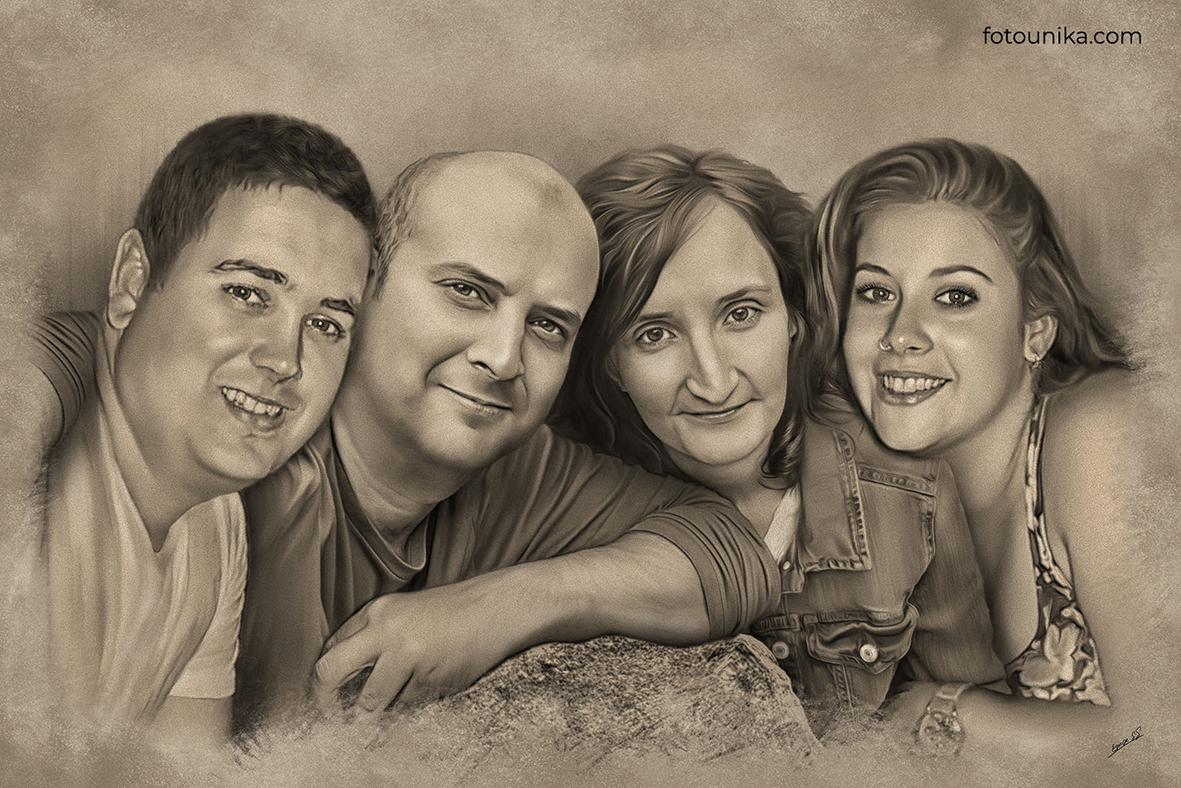 DETALLE BODAS CARBONCILLO FAMILIA A