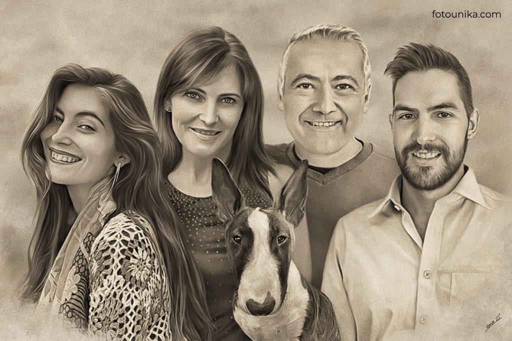 DETALLE BODAS PADRES CARBONCILLO G FAMILIA NOVIO