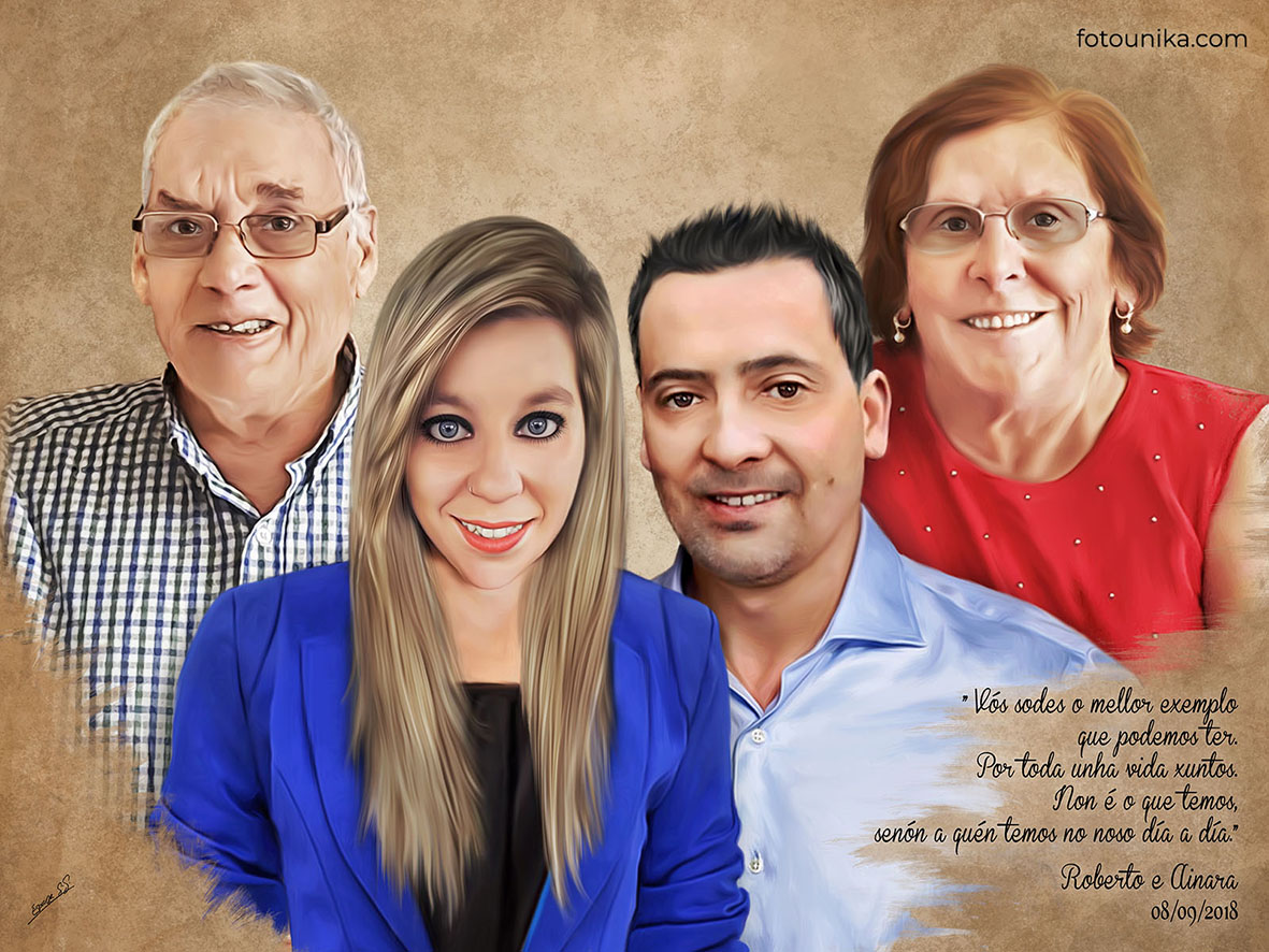 DETALLE BODAS PADRES OLEO FAMILIA NOVIO C
