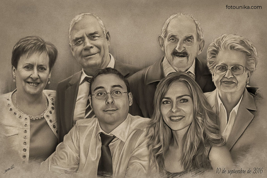 DETALLE DE BODAS PADRES CARBONCILLO F FAMILIA NOVIO