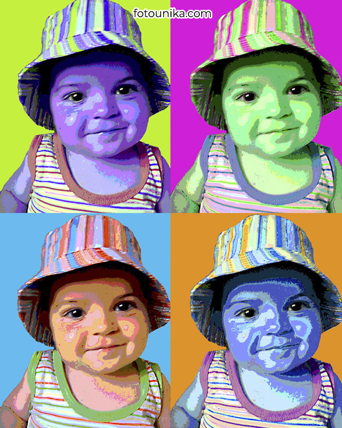 POP ART WARHOL BEBE P